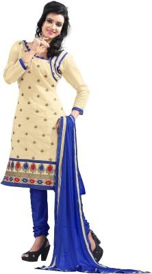 Jiya Chanderi Self Design Dress/Top Material