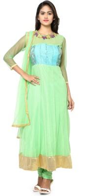 MF Retail Net Self Design Salwar Suit Dupatta Material