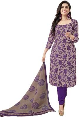 Kaypm Cotton Printed Salwar Suit Material