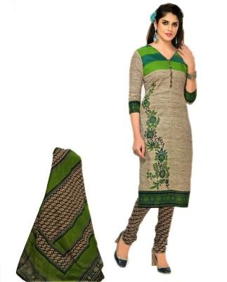 NEEL KAMAL Cotton Printed Kurta & Patiyala Material