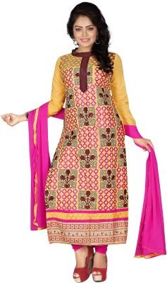 Shree Vardhman Cotton Embroidered Salwar Suit Dupatta Material