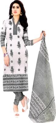Salwar Studio Cotton Floral Print, Paisley Salwar Suit Dupatta Material