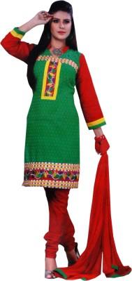 Sonakshi Creation Cotton Printed Salwar Suit Dupatta Material
