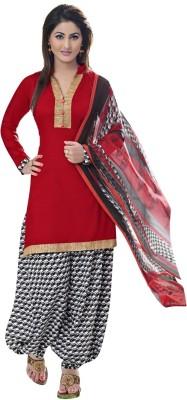 Varanga Cotton Self Design Salwar Suit Dupatta Material