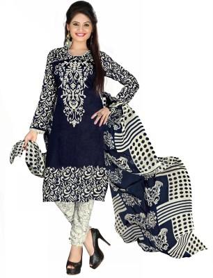 Khoobee Crepe Self Design, Printed Salwar Suit Dupatta Material