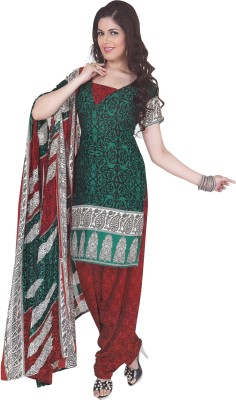 Mitra Synthetic Printed Salwar Suit Dupatta Material