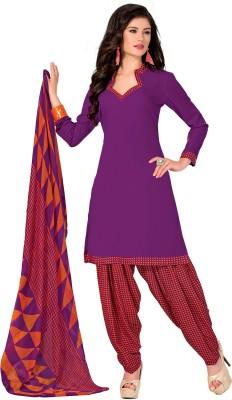 Hitansh Crepe Printed Salwar Suit Dupatta Material