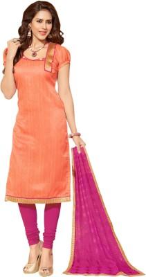 Ganga Fashion Jute Embroidered Salwar Suit Dupatta Material