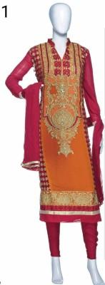 Morpankhi Georgette Embroidered Salwar Suit Dupatta Material