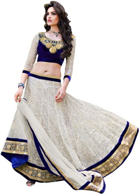 Styles Clothing Brasso Embroidered Lehenga Choli Material