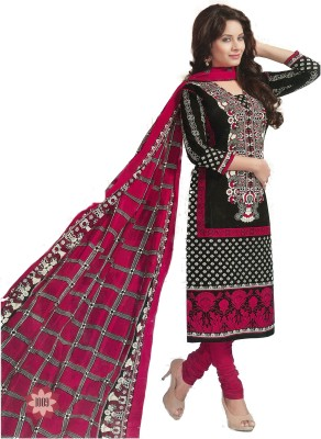 UF7 CREATIONS Cotton Printed Salwar Suit Dupatta Material
