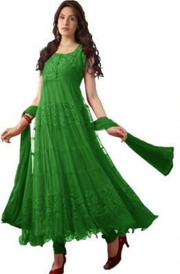 Deekay cloth house Brasso Self Design Salwar Suit Dupatta Material