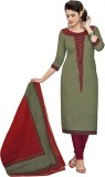 Nazaquat Cotton Printed Salwar Suit Dupa...