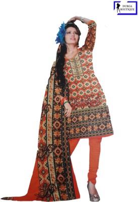 Durga Boutique Wool Printed Salwar Suit Dupatta Material