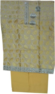 FS Cotton Embroidered Salwar Suit Dupatta Material
