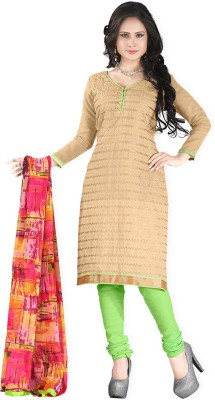 Yehii Chanderi Embroidered Salwar Suit Dupatta Material