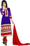 Yehii Chanderi Embroidered Salwar Suit D...
