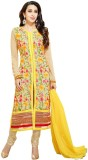 Hardik Georgette Embroidered Salwar Suit...