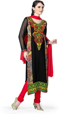 Open Catlouge Synthetic Georgette Printed Salwar Suit Dupatta Material