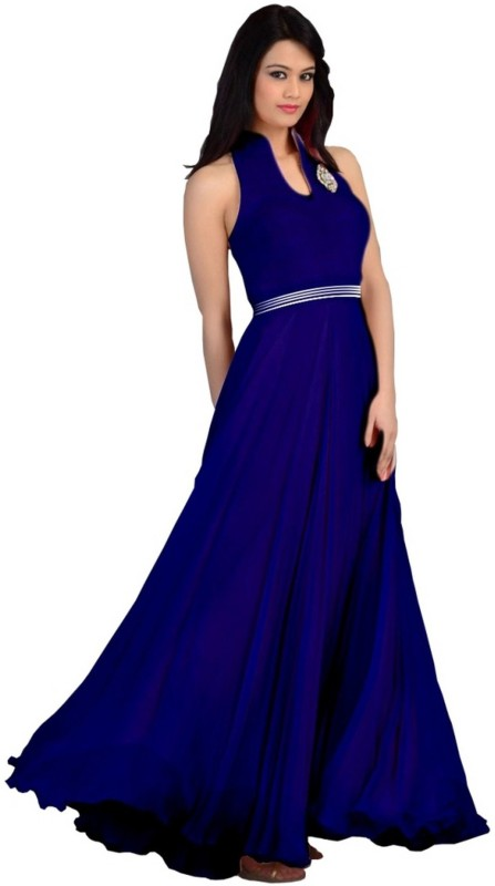 Frocksme Semi-stitched Gown