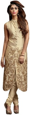 Fashion Forever Georgette Embroidered Shirt Fabric