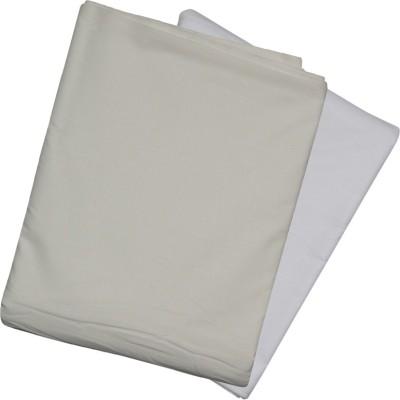 Sojanya (Since 1958) Cotton Linen Blend Solid Kurta Fabric(Un-stitched)