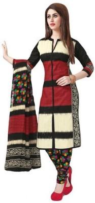 FastColors Cotton Printed Salwar Suit Dupatta Material