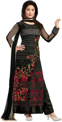 Heer Ganga Net Embroidered Salwar Suit Dupatta Material