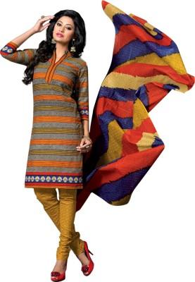 Drapes Cotton Printed Salwar Suit Dupatta Material