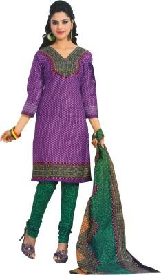 EthnicQueen Cotton Geometric Print Dress/Top Material