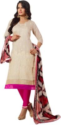 Florence Chanderi Embroidered Salwar Suit Dupatta Material