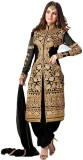 Dharm Fashion Georgette Embroidered Semi...