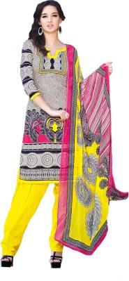 Porwal Bros Jacquard Embroidered Salwar Suit Dupatta Material