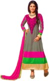 Ipshita Traders Georgette Embroidered Se...