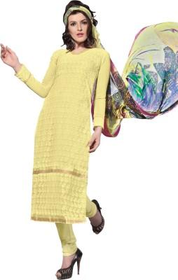 Vastrani Georgette Embroidered Salwar Suit Dupatta Material