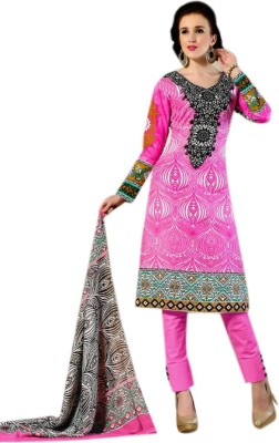 Sahej Suits Cotton Printed Salwar Suit Dupatta Material