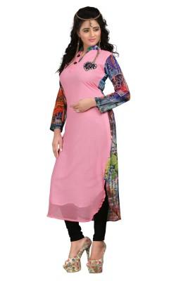 Vaishali Fashion Georgette Self Design Kurti Fabric