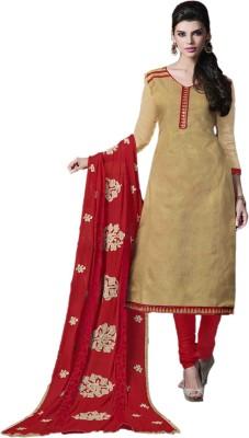 Manjaree Jacquard Printed Salwar Suit Dupatta Material