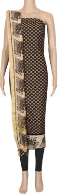 Laxmi Creations Chanderi Printed Salwar Suit Dupatta Material