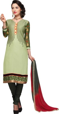 Saara Cotton Embroidered Dress/Top Material