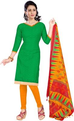 Price Bet Jacquard Solid Salwar Suit Dupatta Material