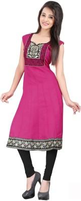 Parishi Fashion Cotton Embroidered Kurti Fabric