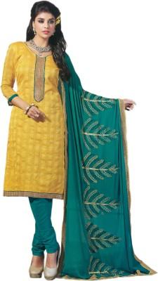CAVALLI GANG Silk Solid Salwar Suit Dupatta Material