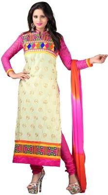 Jassu Fashion Hub Cotton Self Design Semi-stitched Salwar Suit Dupatta Material