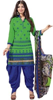 Meghali Suits Cotton Embroidered Suit Fabric, Salwar Suit Material, Kurta & Patiyala Material, Salwar Suit Dupatta Material