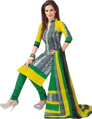 Aarvi Cotton Printed Dress/Top Material