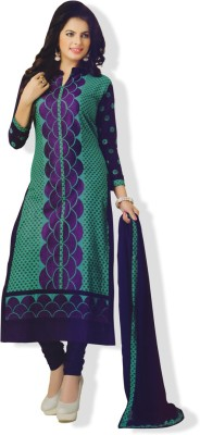 Vishnu International Cotton Printed Salwar Suit Dupatta Material