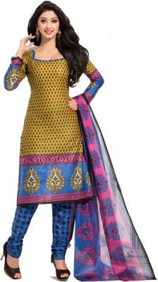 Traje Cotton Printed Salwar Suit Material