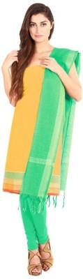 Pratamika Cotton Floral Print Salwar Suit Dupatta Material