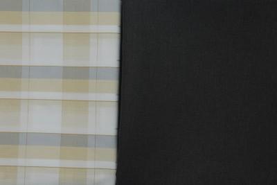 Sancheti Premium Cotton Polyester Blend Self Design Shirt & Trouser Fabric